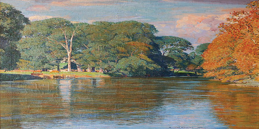 Garber Painting of the Delaware River